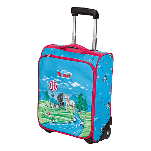 Сумка дорожная на колесах Винкс Детские чемоданы.